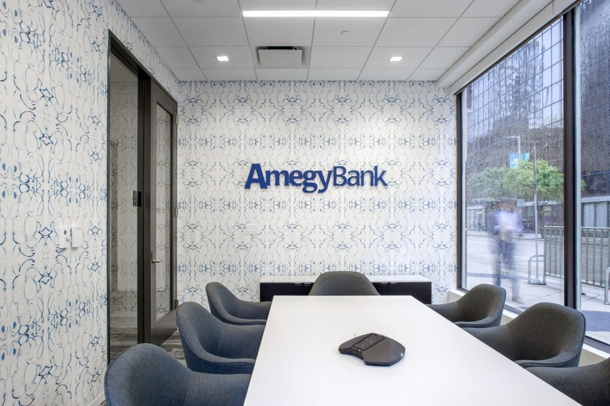 Amegy Bank in Houston. Photo by Thomas McConnell.