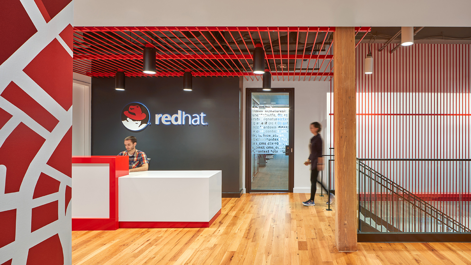 Red Hat Boston. © Robert Benson Photography