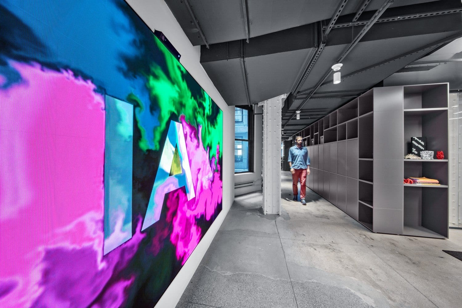 Interior Architects New York Digital Wall