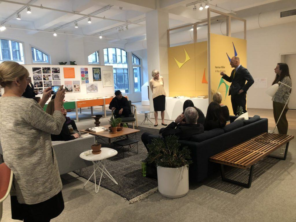 The Herman Miller Exhibit at NYCxDesign