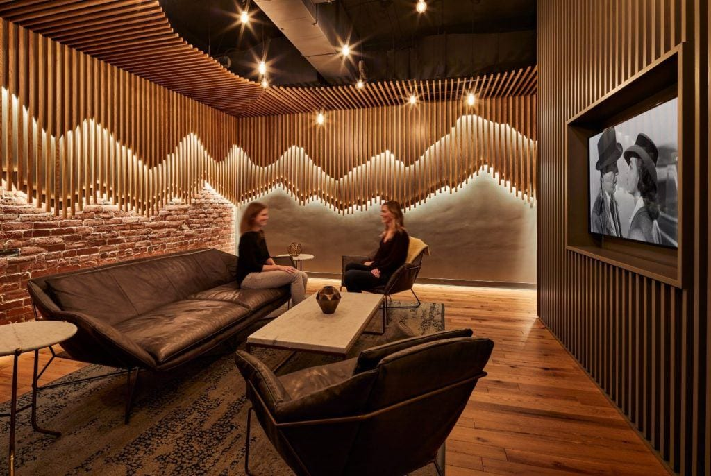 The Red Hat Den - an escape for employees.