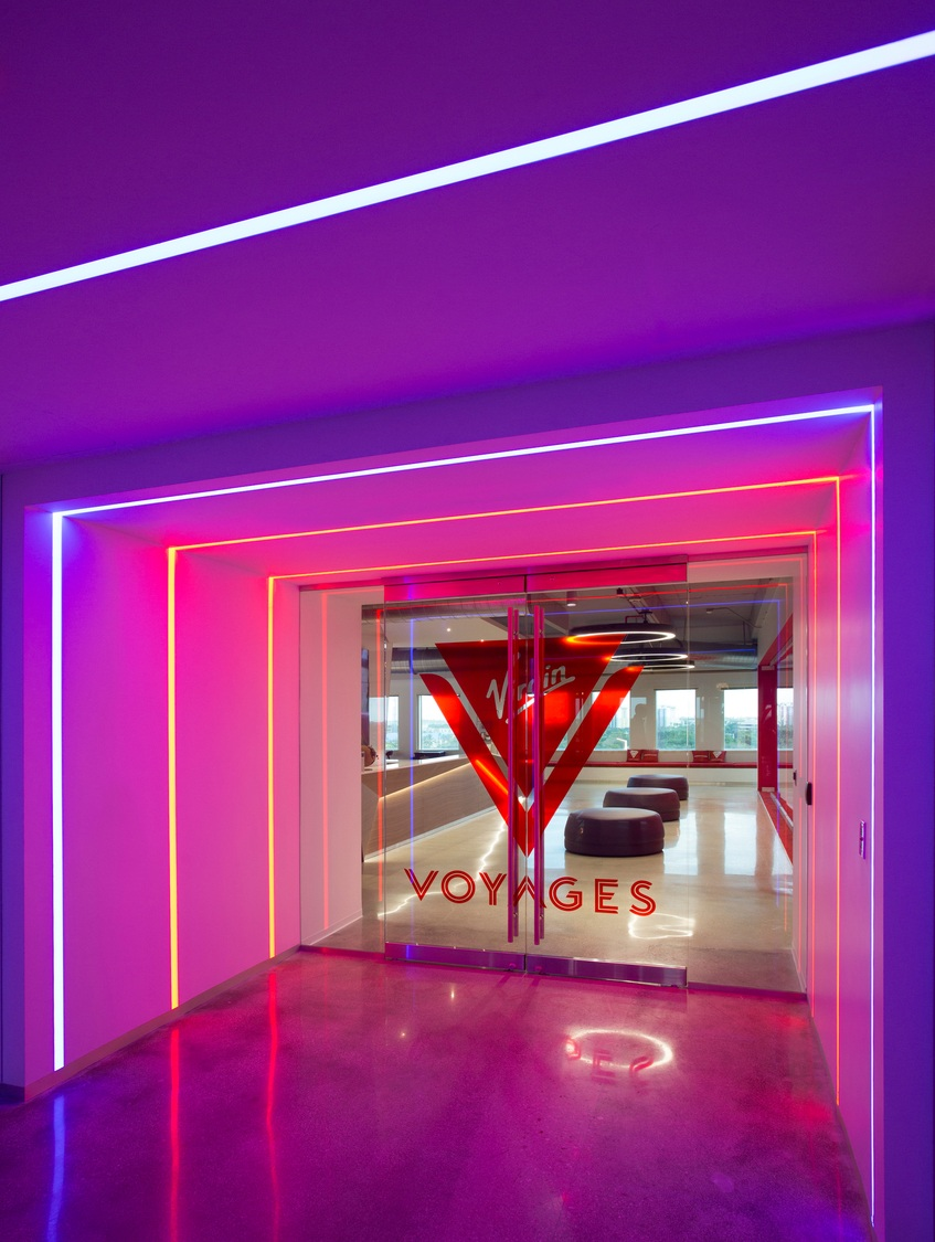 Virgin Voyages main entrance